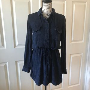 Anthropologie Cloth & Stone Blue Chambray …